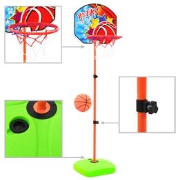 Basketkorg Med Boll För Barn