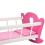 Docksäng Med Takhimmel Mdf 50X34X60 Cm Rosa