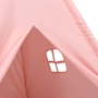 Tipitält För Barn Med Väska Peachskin Rosa 120X120X150 Cm