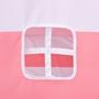 Tipitält För Barn Peachskin Med Väska Rosa/Vit Randigt 120X120X150 Cm