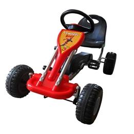Trampbil Big Wheel Röd