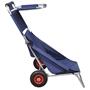 Strandvagn Med Hjul Hopfällbar Blå