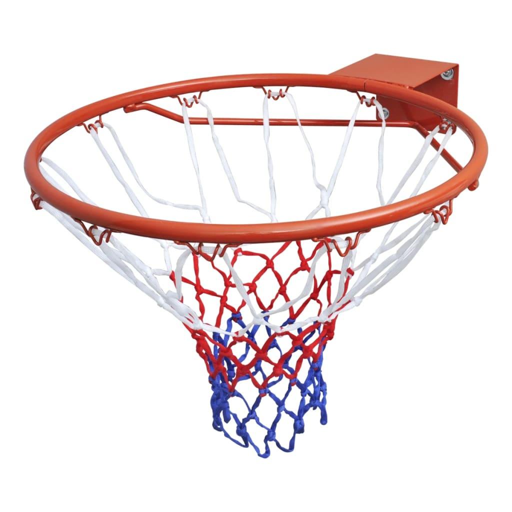 VidaXl Basketkorg Med Orange Nät 45 Cm