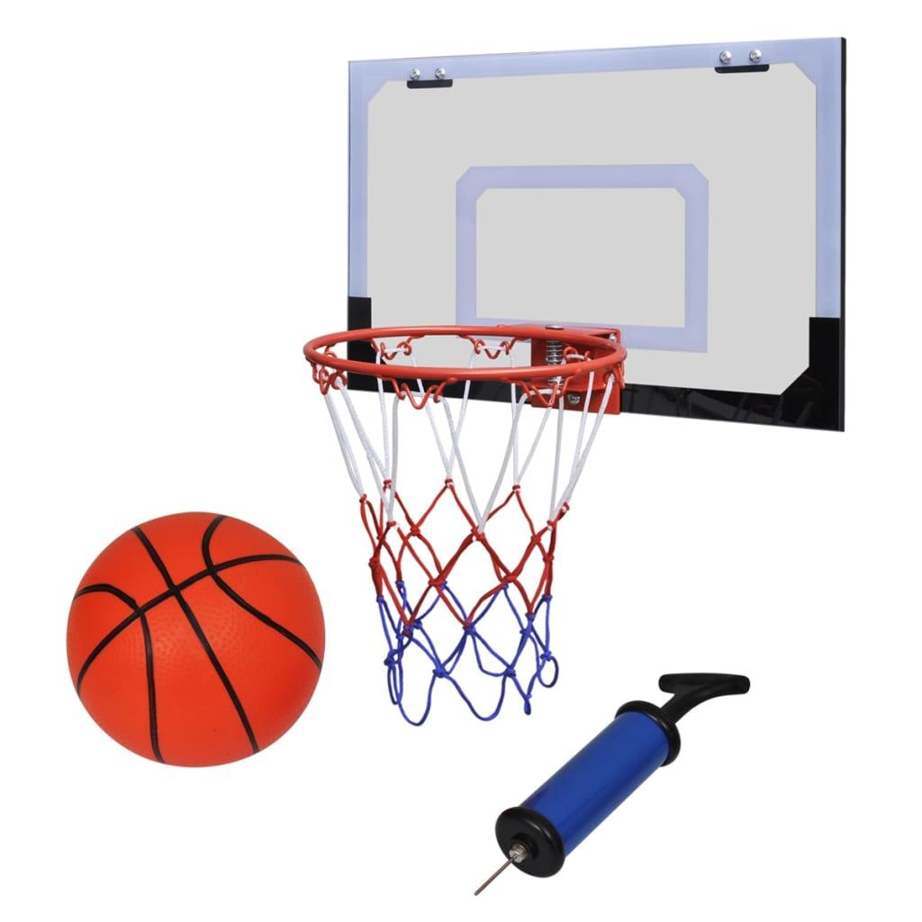 VidaXl Basketpaket Inkl. Korg, Boll Och Pump
