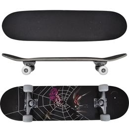 "Skateboard Spindel Ovalformad Lönnträ 8"" 9 Lager"