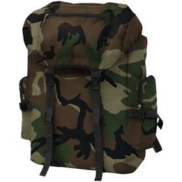 Arméryggsäck 65 L Kamouflage