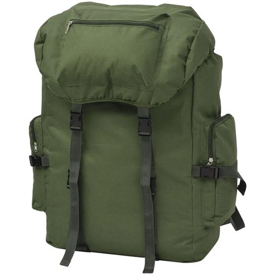 Arméryggsäck 65 L Grön