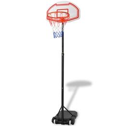 Basketkorg Med Stativ Flyttbar 250 Cm
