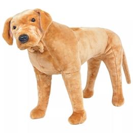 Stående Leksakshund Labrador Ljusbrun Xxl