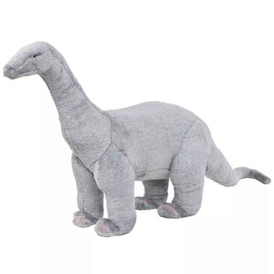 Stående Plyschleksak Brachiosaurus Grå Xxl