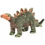 Stående Leksak Stegosaurus Plysch Grön Och Orange Xxl