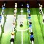 Fotbollsbord Stål 60 Kg 140X74,5X87,5 Cm Brun