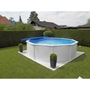 Kwad Pool Steely Deluxe Rund 5,5X1,2 M