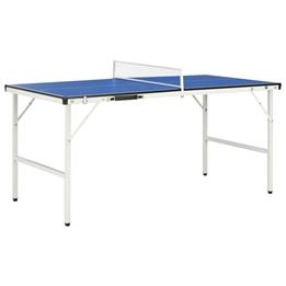 Bordtennisbord Med Nät 5 Feet 152X76X66 Cm Blå