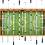 Fotbollsbord Stål 60 Kg 140X74,5X87,5 Cm Ljusbrun Och Svart