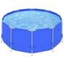 Pool Med Stålram 367X122 Cm