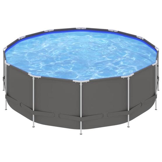 Pool Med Stålram 457X122 Cm