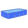 Pool Med Stålram 394X207X80 Cm