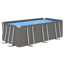 Pool Med Stålram 400X207X122 Cm