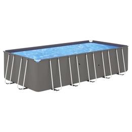 Pool Med Stålram 540X270X122 Cm
