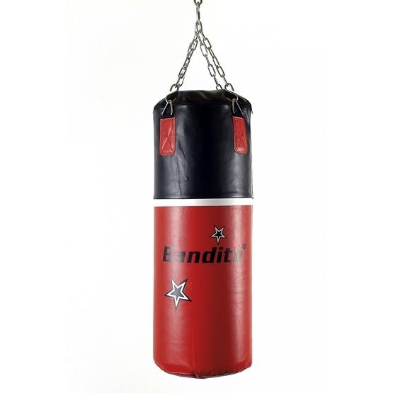 Bandito Sport - Boxningssäck - Träning 16 kg - Svart/Röd